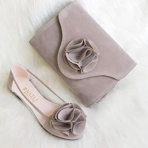 Shoes - Flat shoes with purse
